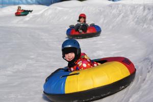 Snowtubing, Malý dobrodruh