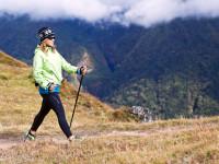 Díky Nordic walkingu můžete zlepšit krevní oběh, okysličování organismu a dopřát plícím čistý vysokohorský vzduch. Foto: www.grundresort.cz