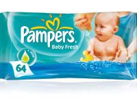 Čisticí ubrousky Pampers Baby Fresh zabraňují vysoušení dětské pokožky. Foto: www.pampers.cz