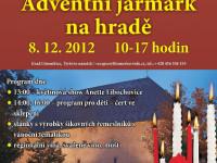 Hrad Litoměřice v sobotu ožije adventním jarmarkem a květinovou show. Foto: www.gotickyhrad.cz