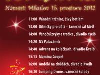 Zažijte typicky vánoční atmosféru s herci, bubeníky a zpěváky v Mikulově. Foto: www.mikulov.cz