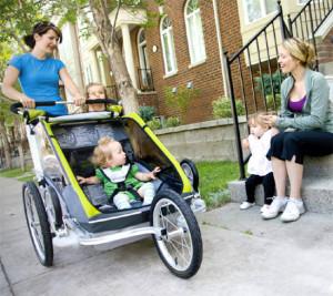 Vozíky za kolo, Malý dobrodruh