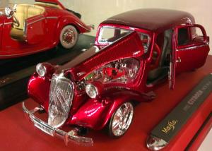 Výstava autíček, Malý dobrodruh