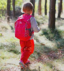 Dětský batoh, Malý dobrodruh