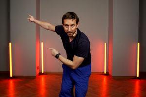 Václav Kuneš, choreograf a tanečník, umělecký šéf souboru současného tance 420PEOPLE. Foto: www.420people.org