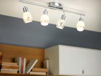 Svítidla od společnosti EGLO vynikají moderním vzhledem a energetickou úsporností. Foto: www.eglo.cz