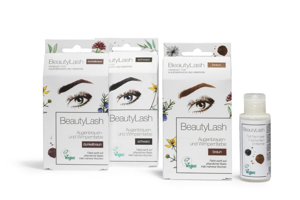 BeautyLash Vegan barvy na řasy a obočí