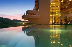 Balance Resort Stegersbach osloví svou nádhernou polohou a architekturou. Foto: Falkensteiner Hotels & Residences