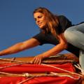 Plachetnice džunka Esperanza na své plavbě navštívila Harlingen. Foto: www.dzunka.cz
