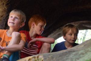 Děti v lese 2