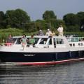 Holandsko, kanál, loď, Volendam, Střed Holandska