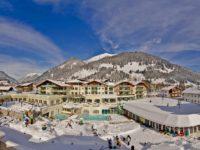 Resort Alpenrose v Lermoosu. Foto: www.hotelalpenrose.at