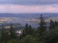 Slezská Harta je nejmladší přehrada v Česku. Foto: www.
