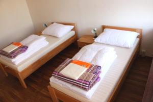 14 nových pokojů nemocniční ubytovny FN Motol. Foto: Nadační fond Dům Ronalda McDonalda