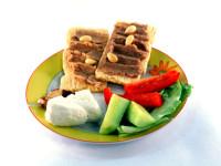 S těmito chlebíčky se nemusíte bát, že přiberete. Foto: www.skaba.cz