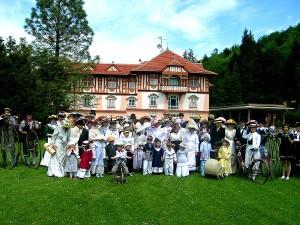 Oslavy básnířky Calmy Veselé v Luhačovicích