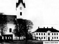 Foto: Obecná škola u kostela sv. Filipa a Jakuba ve Zlíně, 20. Léta 20. století: Archív MJVM Zlín
