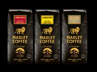 Značka Marley Coffee má v nabídce populární kávu plnou květinových tónů, s postupně se odkrývajícími chutěmi borůvek, kakaa, koření a dochutí třešní.