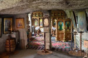 Moldavsko - Klášter Orheiul Vechi, Malý dobrodruh