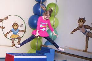 Cvičení děti, Malý dobrodruh