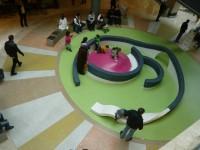Odpočinek v nákupním centrum Forum, foto: Hana Moualla
