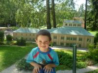 Jana Vítovcová doporučuje vydat se na výlet do  do Parku miniatur Boheminium v Mariánských Lázních. Foto: autorka tipu