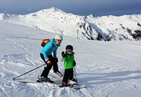 Dovolená v Rakousku s dětmi je sázkou na jistotu co se týká kvality lyžování i zábavy. Foto: © TravelTrex