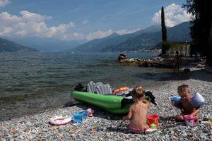 Lago Como nedaleko Bellagia