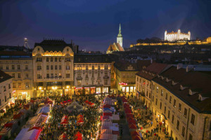 Vánoce Bratislava, Malý dobrodruh