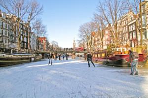 Zimní Amsterdam, Malý dobrodruh