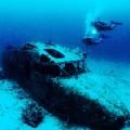 potápění vrak Britské Panenské ostrovy