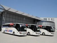 Dopravce Eurolines zavedl na vybraných linkách první autobusy Setra 516 HD, které jsou ekologičtější a hýří komfortem.