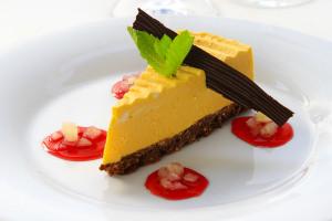 dýňový koláč - menu Kouzlení z dýně