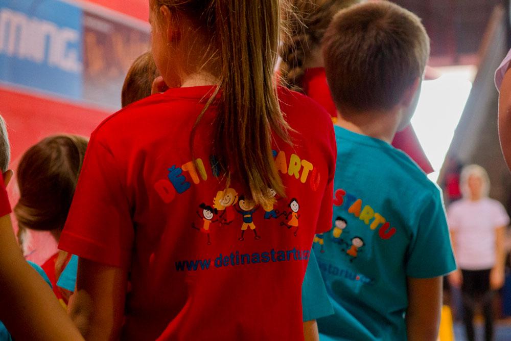 Děti na startu