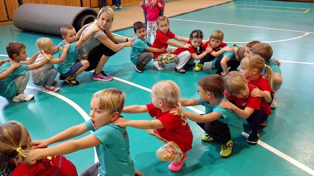 Děti na startu v Kladně