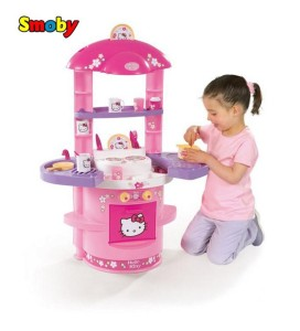 dětská kuchyňka Hello Kitty, Malý dobrodruh