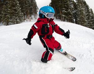 Začínáme s dětmi na lyžích, Malý dobrodruh