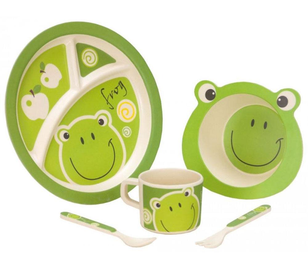 Sada nádobí pro děti Vango Bamboo
