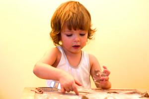 Pečení pro děti v Galerii Myslbek