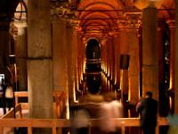 Jerebatská cisterna je jedním z nejtajemnějších chrámů v Istanbulu, foto: www.dreamstime.com
