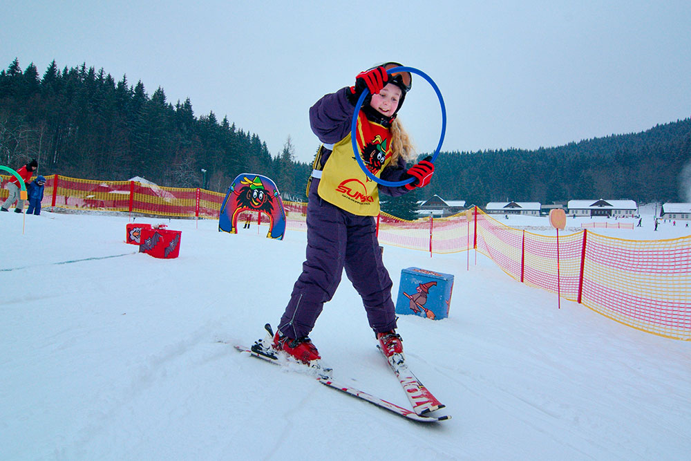 Jak naučit dítě lyžovat
