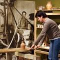 Muzeum Šumperk, hlína, hrnčíř, pec