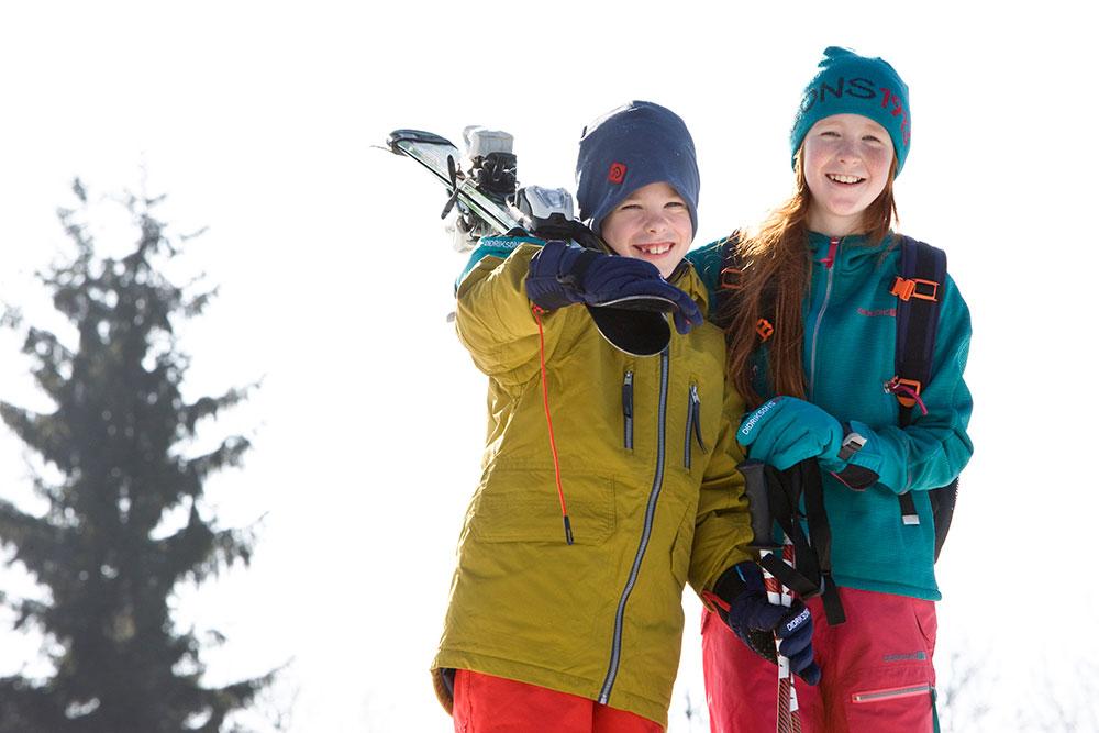 Baby Club Juklík - lyžování