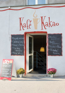 cukrárna, kavárna, v Praze, pro děti, kafé a kakao, Kafé a Kakao