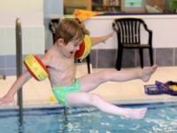 Vodní hrátky si děti opravdu užijí. Foto: www.juklik.cz