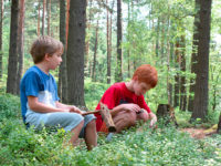 Nechte děti vymýšlet, kam půjdete na výlet. Foto: www.juklik.cz