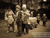 V lesní školce jsou vaše děti neustále v kontaktu s přírodou. Foto: www.mezi-stromy.cz