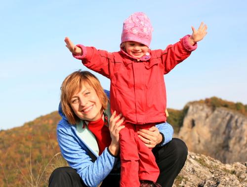 Zuzana Rybářová s dcerou - Malý dobrodruh