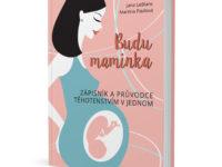 Kreativní zápisník a průvodce těhotenstvím pro vás i vaše miminko. Foto: Nakladatelství MF
