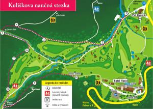 mapa Kulíškova stezka